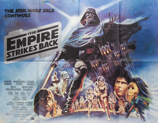 The Star Wars trilogy: Three British quad posters, Twentieth Century Fox, 1977-1983, 3