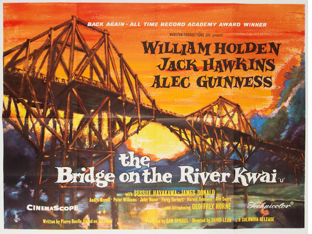 The Bridge On The River Kwai,  Columbia, 1958 (re-release),