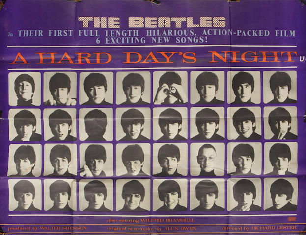 The Beatles: A Hard Days Night,  United Artists, 1964,