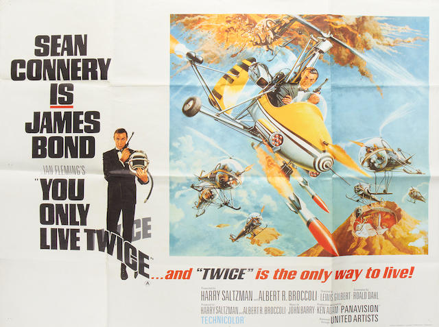 You Only Live Twice,  Eon/United Artists, 1967,
