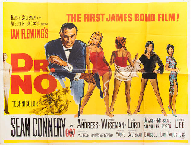 Dr. No,  Eon/United Artists, 1962,