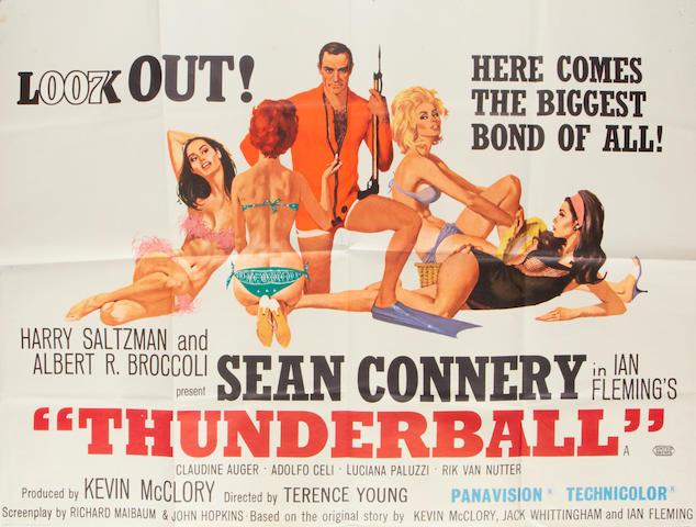 Thunderball,  Eon/United Artist, 1965,
