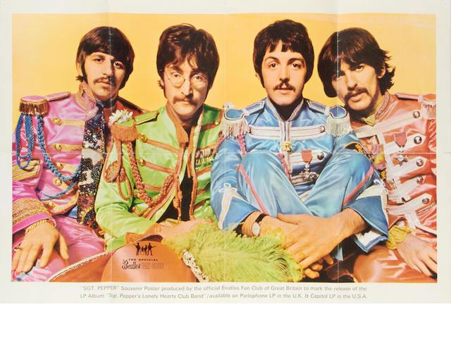 The Beatles: A collection of Beatles Fan Club material, 1960s/early 70s,
