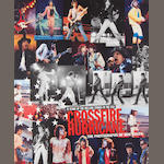 The Rolling Stones: 'Crossfire Hurricane', photographs by Bob Gruen of the Stones in the USA,