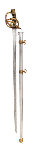 An 1834 Pattern Royal Horse Guards Officer's Full Dress Sword