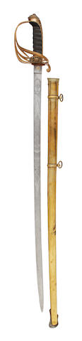 An 1845 Pattern General Officer's Sword