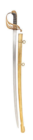 An 1822 Pattern Infantry Officer's Sword