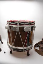 A modern Regimental drum