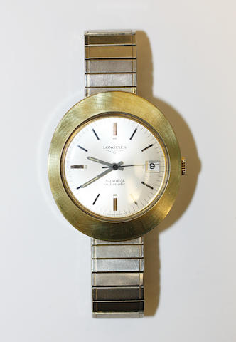 Longines: A gentleman's Admiral automatic wristwatch,