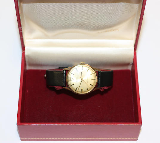 Tudor: A gentlemans wristwatch with box and papers