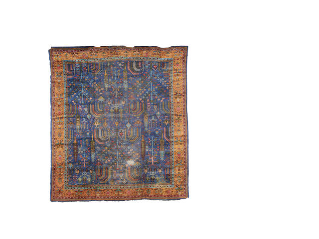 An Ushak carpet, West Anatolia, 403cm x 360cm