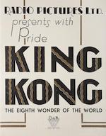King Kong,  RKO, 1933,