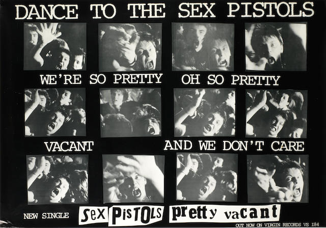 The Sex Pistols: A group of promotional material, majority 1977,