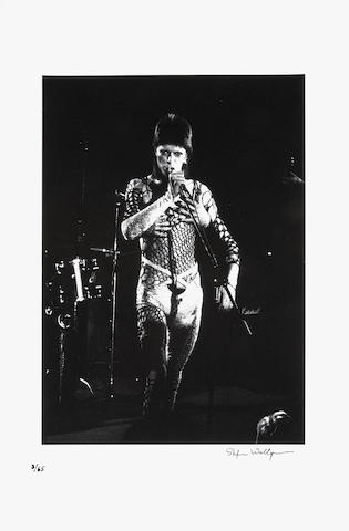 Stefan Wallgren (Swedish): David Bowie as Ziggy Stardust at The Marquee Club,  19th October 1973,