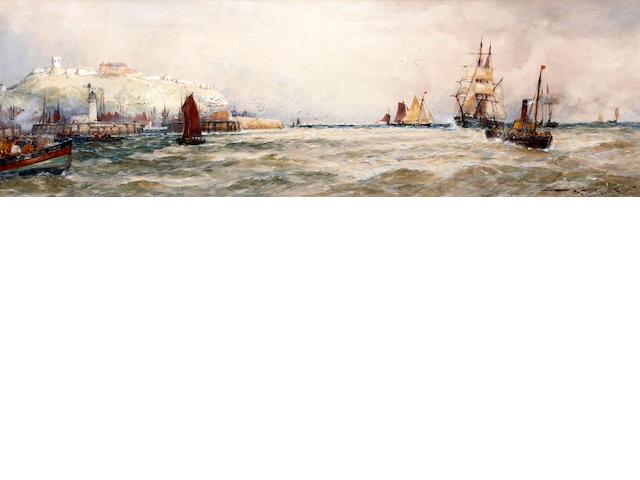 Thomas Bush Hardy (British, 1842-1897) 'Scarborough'