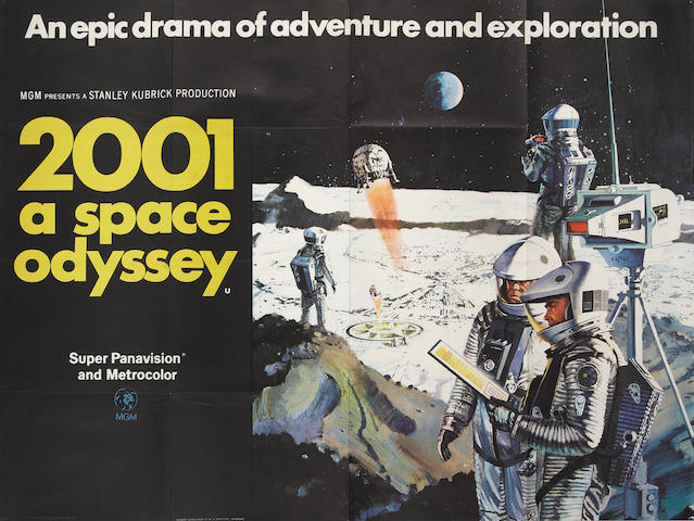 2001: A Space Odyssey, M.G.M, 1968,