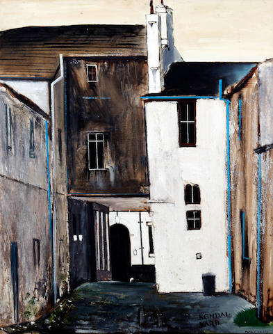 Peter Brook (British, 1927-2009) 'Kendal Yard'