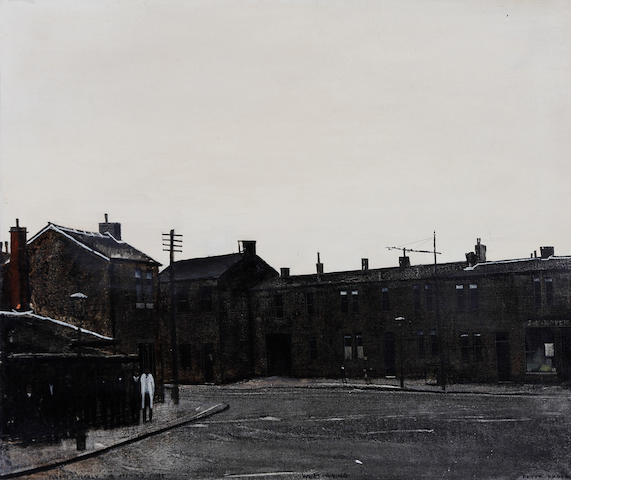 Peter Brook (British, 1927-2009) 'Sunday - Nearly Pub Opening Time, West Riding'