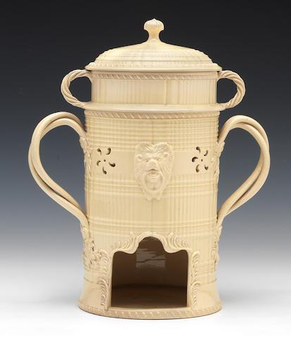 A creamware vielleuse, circa 1770