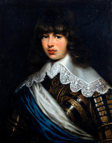 After Justus Sustermans Portrait of Valdemar Christian of Schleswig-Holstein