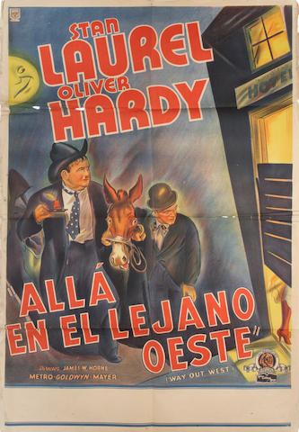 Way Out West (En Alla En El Le Jano Oeste), M.G.M, 1937,