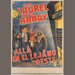Way Out West / En Alla En El Le Jano Oeste, M.G.M, 1937,