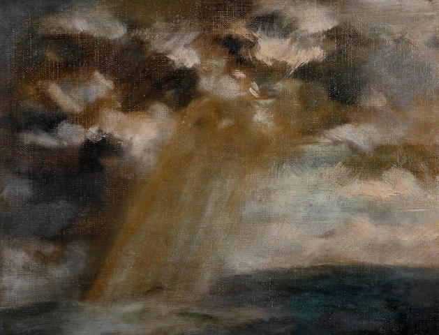 Jacob Kramer (British, 1892-1962) 'Storm, Falmouth'