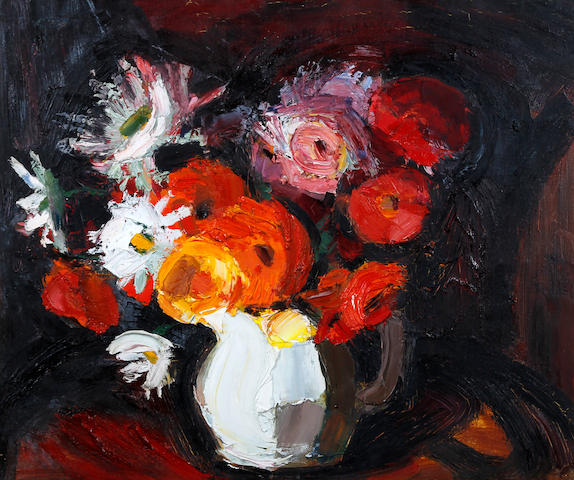 Theodore Major (British, 1908-1999) 'Flowers'