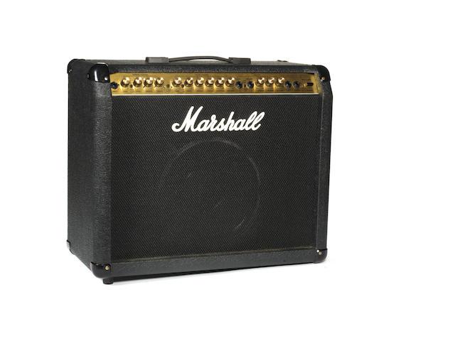 Bert Weedon's Marshall 8080 Valvestate 80 amp combo, 1990s,