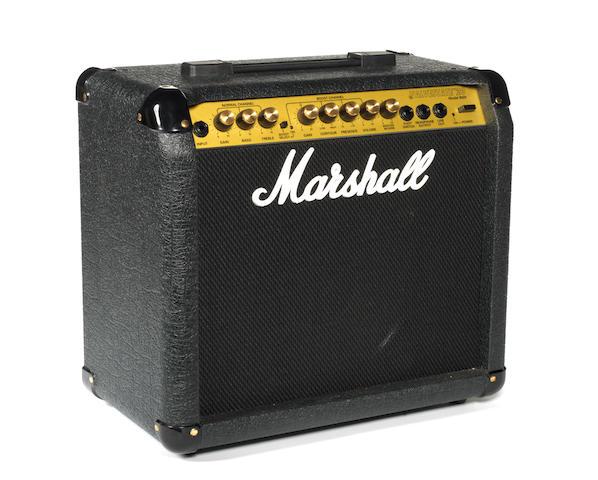 Bert Weedon's Marshall 8020 Valvestate 20V amp combo,  1990s,