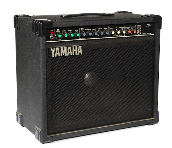 Bert Weedon's Yamaha G100-112 III amp combo, 1980s/90s,
