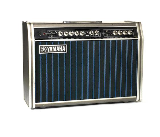 Bert Weedon's Yamaha YTA 95 amp combo, 1970s,