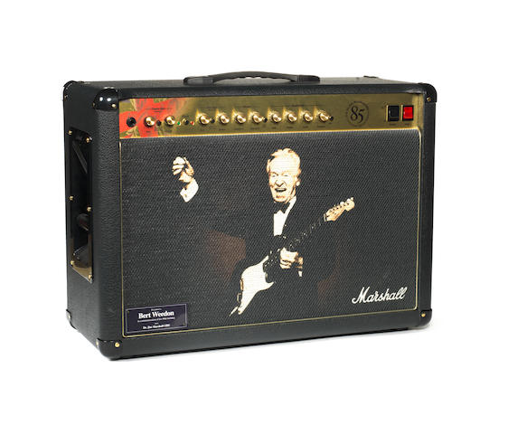 Bert Weedon's Marshall 1923C '85th Celebration Special Edition' amp combo,