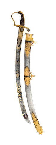 A Fine and Ornate Georgian Officer's Sabre