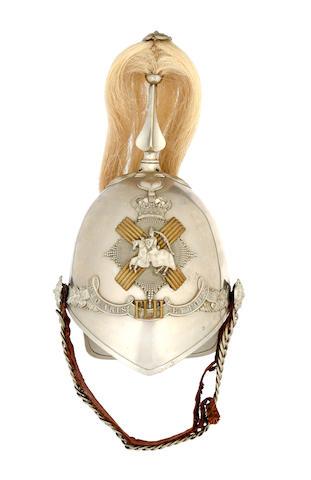 Fife Light Horse a Trooper's 1871 Pattern Helmet