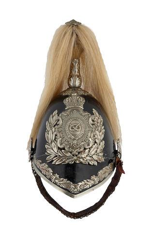 Staffordshire Yeomanry Cavalry Trooper's Helmet c. 1850 - 1894