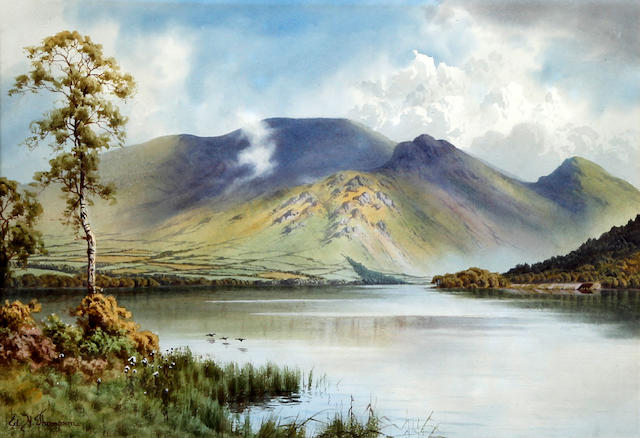 Edward H. Thompson (British, 1879-1949) Bassenthwaite lake