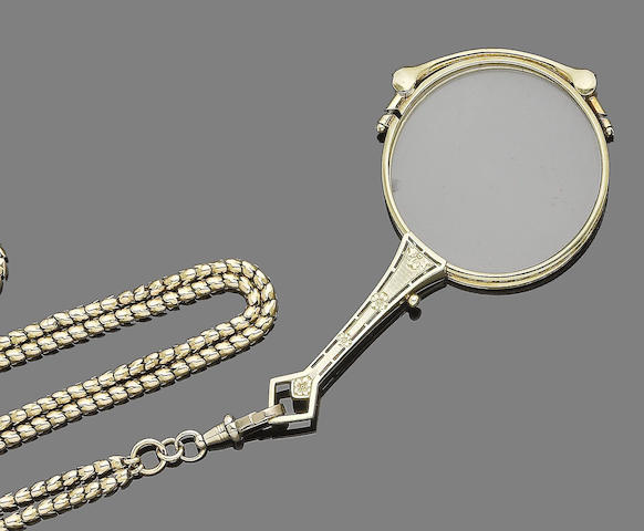 A lorgnette (3) (partially illustrated)