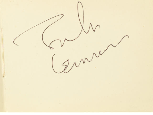 John Lennon: An autograph album signed by John Lennon and others, 1960s/70s,