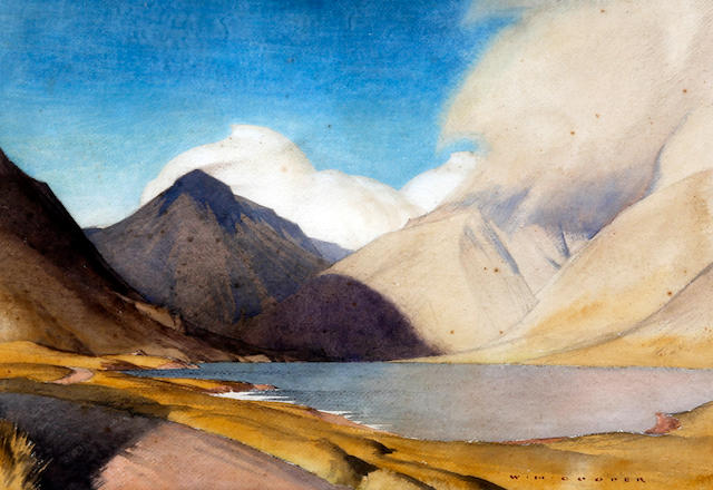 William Heaton Cooper (British, 1903-1995) A Lake District landscape, possibly Ullswater