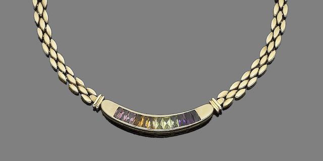 A gem-set necklace, by H Stern
