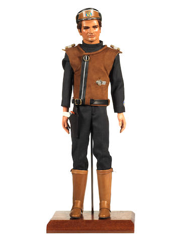 Captain Scarlet: A Captain Brown puppet,