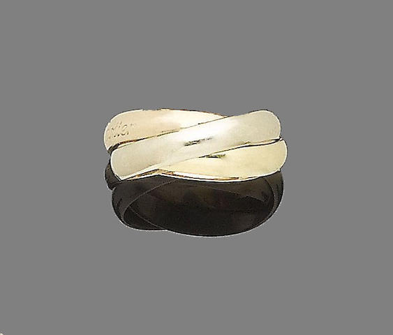 A 'Trinity' ring, by les must de Cartier