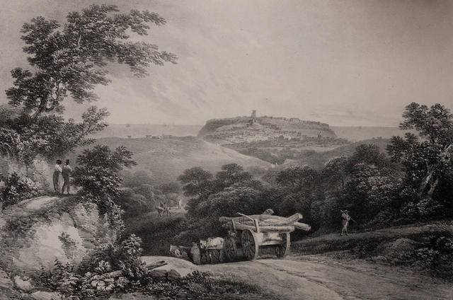 Francis Nicholson (British, 1753-1844) 'Six Views of Scarborough Drawn from Nature and on Stone, 1822'
