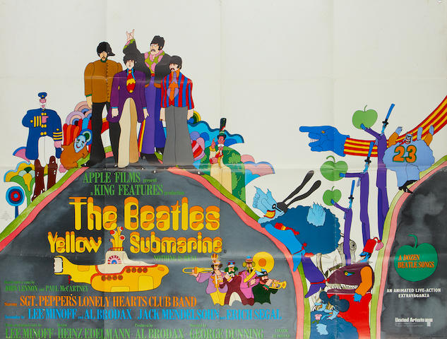 The Beatles: Yellow Submarine,  King Features, 1968,