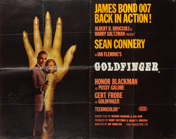 Goldfinger,  Eon/United Artists, 1964,