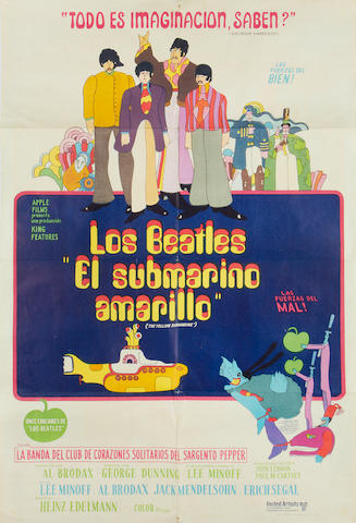 Yellow Submarine, King Features, 1968,