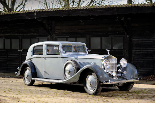 1935 Rolls Royce Phantom II Sports Limousine  Chassis no. 56UK Engine no. RX25