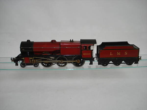 Bassett-Lowke electric 4-6-0 Royal Scot locomotive and tender