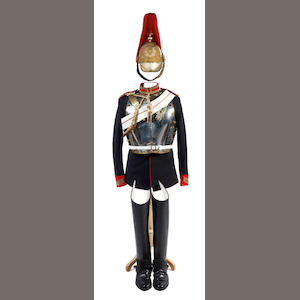 The Blues and Royals a Trooper's Complete Uniform Present Era